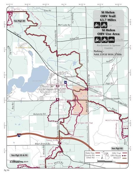 St Helen Trail Information Vvmapping Com
