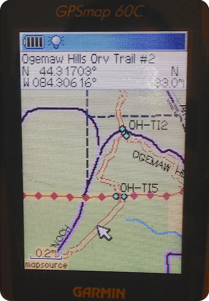 Great Lakes ORV GPS Map - VVMapping com