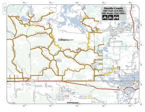 Oneida County Orv Trail Information Vvmapping Com